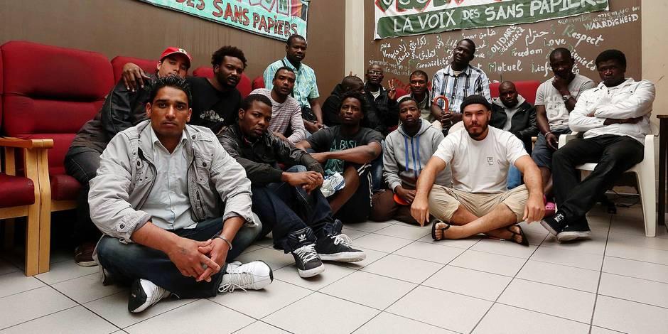 Molenbeek-Saint-Jean. Un nouveau squat s'organise petit à petit. Au moins une centaine de demandeurs d'asile ont investi un immeuble inoccupé