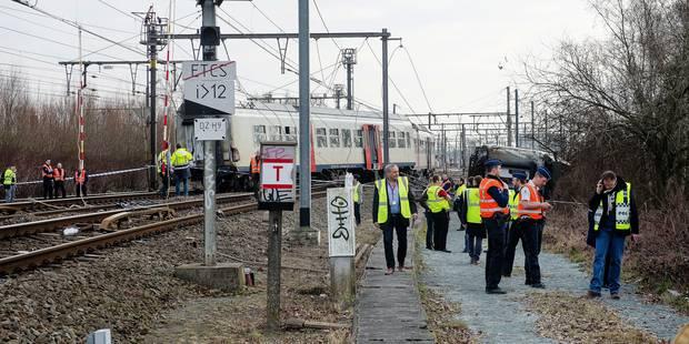 Déraillement de Louvain: Un mort malchanceux et des questions, des perturbations ce lundi - La DH