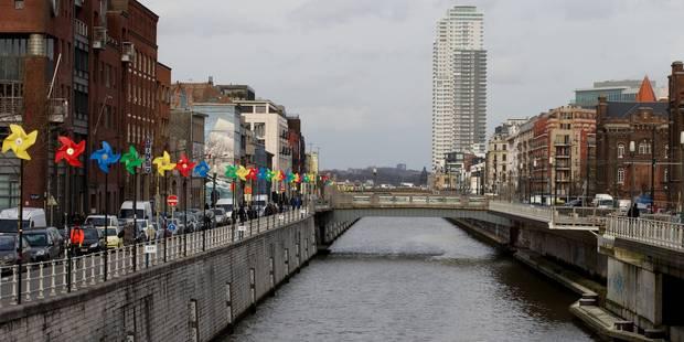 Bruxelles: La zone franche autour du Canal enterrée - La DH