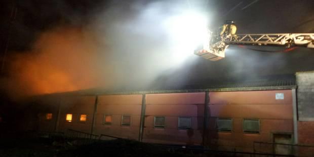 Incendie de ferme à Pont-de-Loup cette nuit, plusieurs bovins pris au piège - La DH