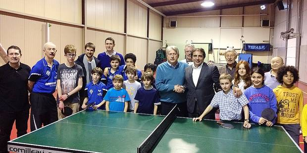 Tennis de table le royal alpa schaerbeek woluwe est n la dh - Club tennis de table paris ...