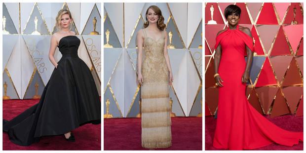 Oscars 2017 : le meilleur et le pire du tapis rouge - La DH