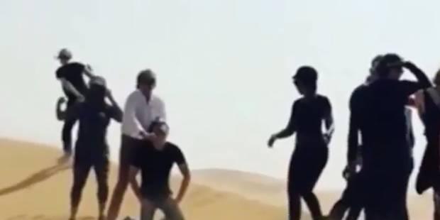 Rod Stewart se prend pour un bourreau de DAECH - La DH