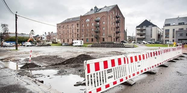 Soumagne : Les travaux de la place de la Gare ont enfin débuté ! - La DH