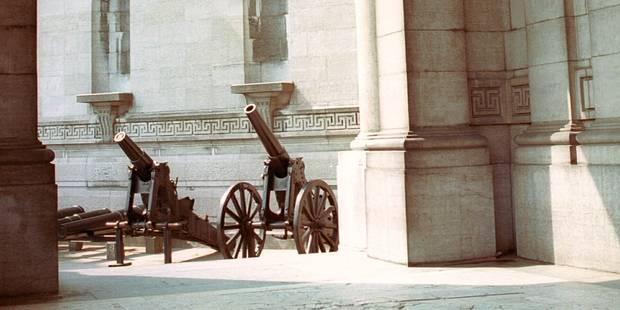 Cinquantenaire: les grands canons ont disparu, voici le mystère résolu - La DH