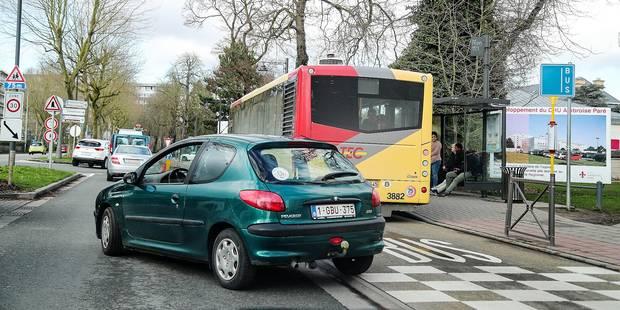 Mons : incivilités intempestives sur les bandes bus - La DH