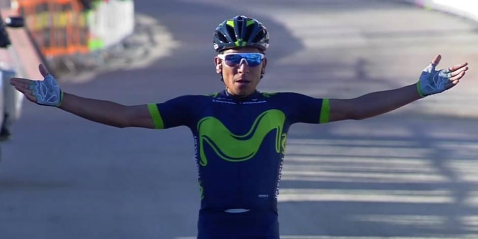Quintana s'illustre lors de l'étape-reine de Tirreno-Adriatico et prend la tête du général
