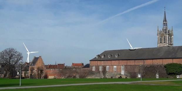 Enghien - Herne: le groupe Colruyt entend revoir à la baisse la hauteur de ses éoliennes - La DH