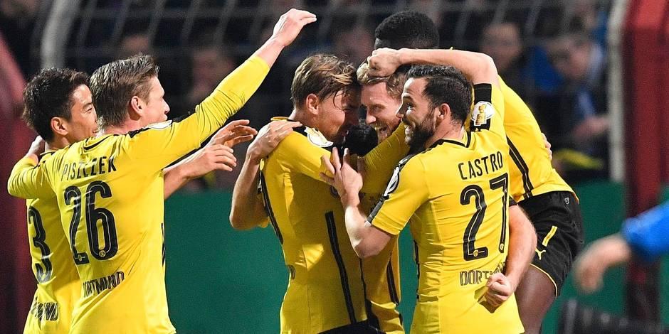 Dortmund file en demies — Coupe d'Allemagne