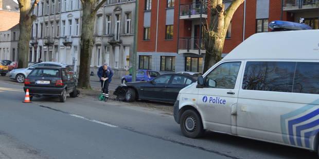 Tournai : Embarras de circulation suite à deux accidents