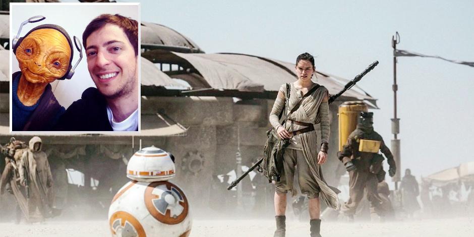 """La DH a rencontré Amaury, le Belge de Star Wars: """"L'épisode 8 va être bien"""""""