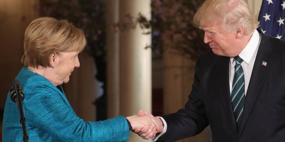 L'Allemagne prend ses décisions de manière « indépendante », a affirmé Angela Merkel