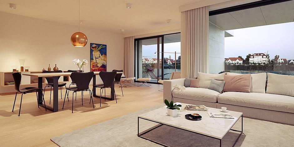 Knokke : les appartements de luxe s'arrachent à prix d'or