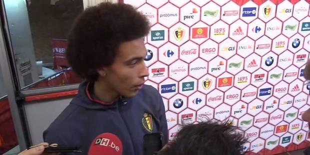 """Witsel: """"La suspension du joueur chinois est exagérée"""" - La DH"""