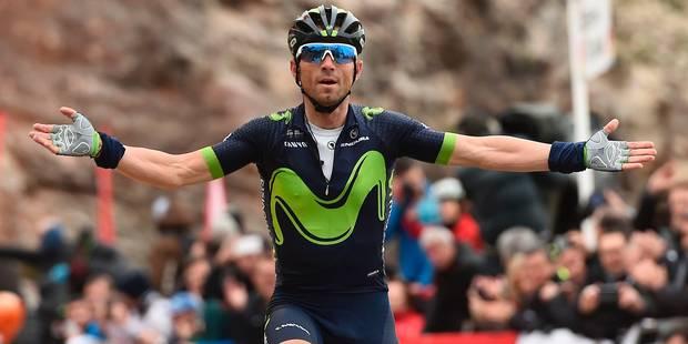 Tour de Catalogne: Troisième victoire d'étape et succès final pour Alejandro Valverde