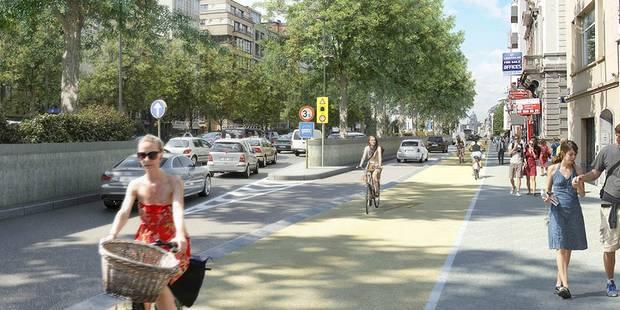 La petite ceinture de Bruxelles transformée au profit des piétons et des cyclistes (PHOTOS) - La DH
