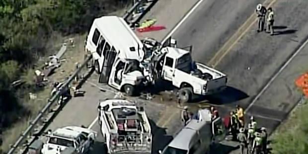 Une terrible collision frontale fait au moins 12 morts au Texas (VIDEO+PHOTOS) - La DH