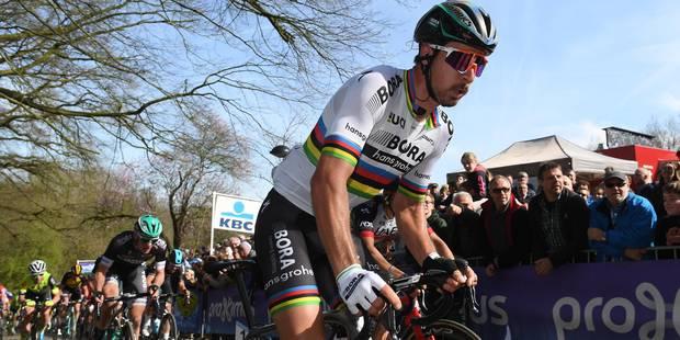 Le geste très agressif de Sagan lors de Gand-Wevelgem (VIDEO) - La DH