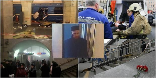Explosion dans le métro à Saint-Pétersbourg: une dizaine de morts, l'auteur présumé a été filmé (PHOTOS + VIDEOS) - La D...