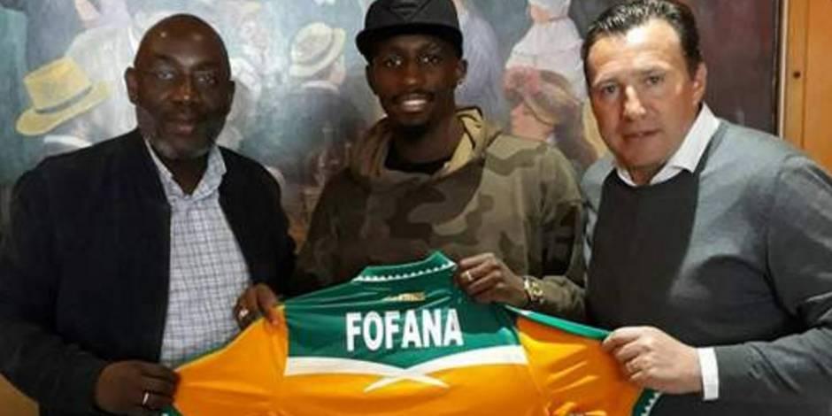 """Maxwel Cornet et Seko Fofana deux """"recrues"""" pour Wilmots en Côte d'Ivoire"""