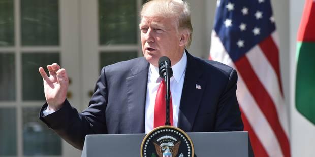 """Trump : """"Mon attitude vis-à-vis d'Assad a changé"""" suite à l'attaque chimique en Syrie - La DH"""