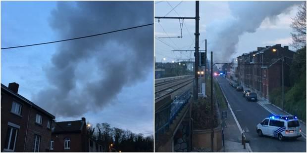 Violent incendie à Liège : une adolescente légèrement blessée - La DH