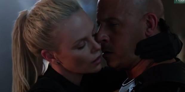 """""""J'agresse son visage avec ma bouche:"""" les confidences de Charlize Theron sur sa scène romantique avec Vin Diesel (VIDEO..."""