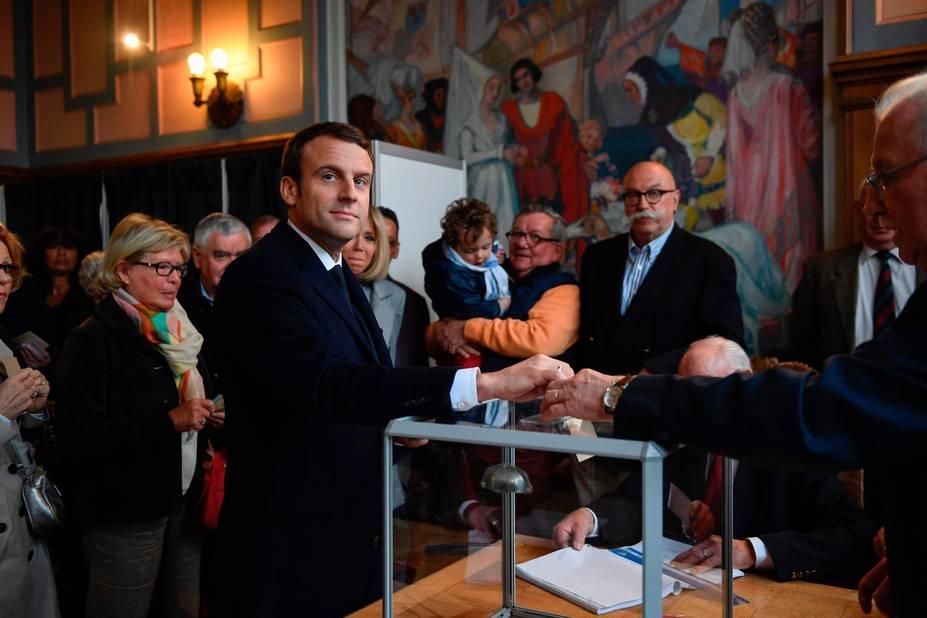François Hollande a voté — Election présidentielle