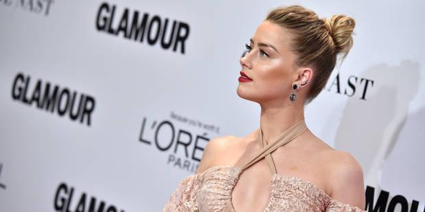 Amber Heard en couple : le cliché qui confirme la rumeur - La DH