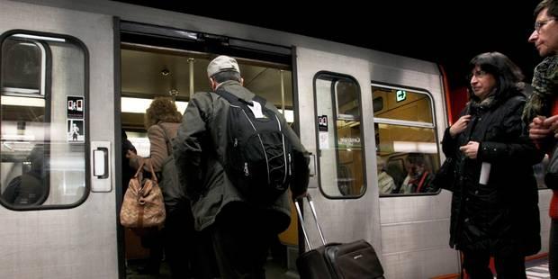 Attention ce week-end: la circulation des trains et métros perturbée à Bruxelles - La DH