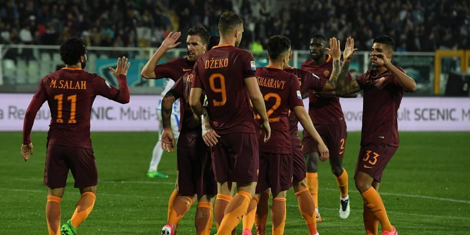 L'AS Rome étrille Pescara et distance Naples — Serie A