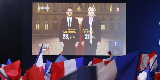 Présidentielle française: Qui a dominé les audiences en Belgique? - La DH
