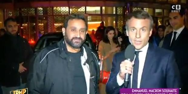Séquence surréaliste dans TPMP: Emmanuel Macron intervient en direct avec Cyril Hanouna - La DH