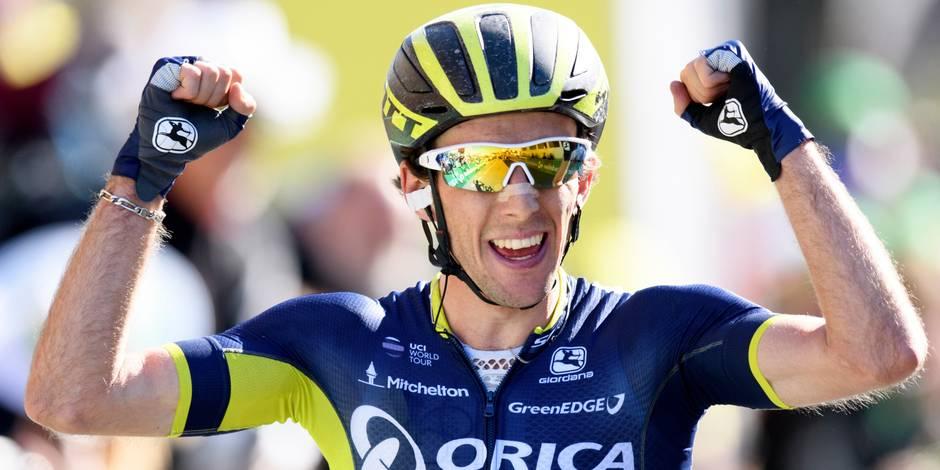 Yates fait coup double et prend le jaune — Tour de Romandie