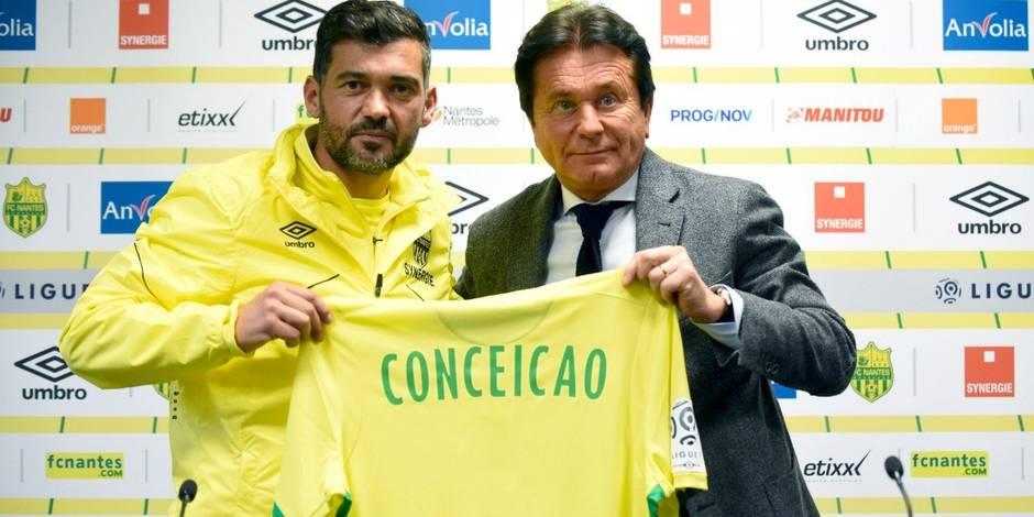 Sergio Conceição prolonge son contrat au FC Nantes, le Standard peut oublier sa piste