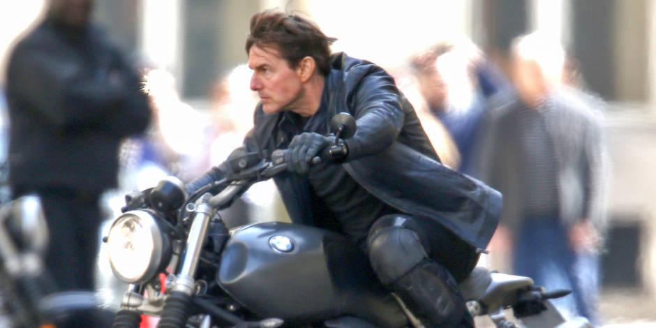 """Tom Cruise en tournage à Paris pour """"Mission Impossible 6"""" (PHOTOS ET VIDEOS)"""