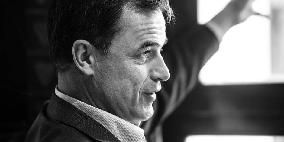 """Benoît Lutgen : """"Chez Défi, Ecolo, au CDH, certains en ont marre du clivage gauche-droite"""" - La DH"""