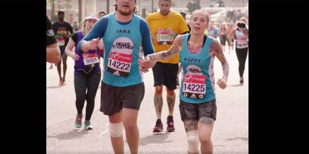 Atteinte de sévères troubles mentaux, Poppy court le marathon de Londres (VIDEO) - La DH
