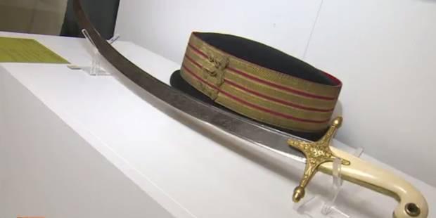 Le sabre de Léopold Ier adjugé... 6.600 euros - La DH