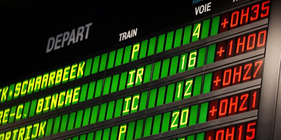 Voici les vrais chiffres des retards des trains à la SNCB - La DH