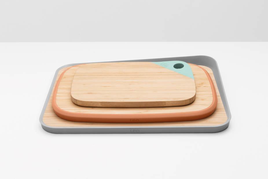Planches à découper en bois LEO, prix de « Product Design 2017 ».