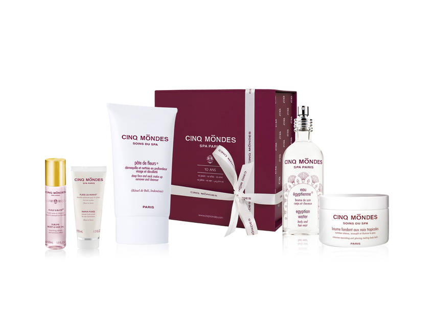 Spa Cinq Mondes, Le coffret des best-sellers en grand format. Moment magique en perspective. 143€