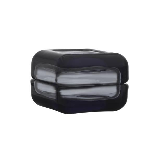 Petit contenant en verre soufflé gris fumé Iittala Vitriini, 29.90€