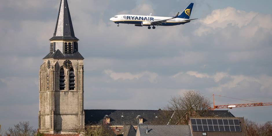 La stratégie de Ryanair pour ne pas payer les amendes pour nuisances sonores à Bruxelles (Carte) - La DH