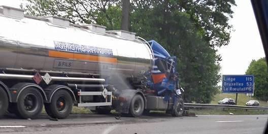 E19/Obourg: un camion entrave la circulation - La DH