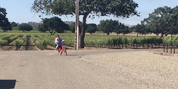 La chute grotesque de Kendall Jenner à vélo (VIDEO) - La DH