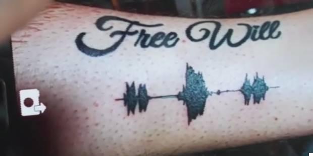 Des tatouages musicaux, lorsque les dessins peuvent parler - La DH