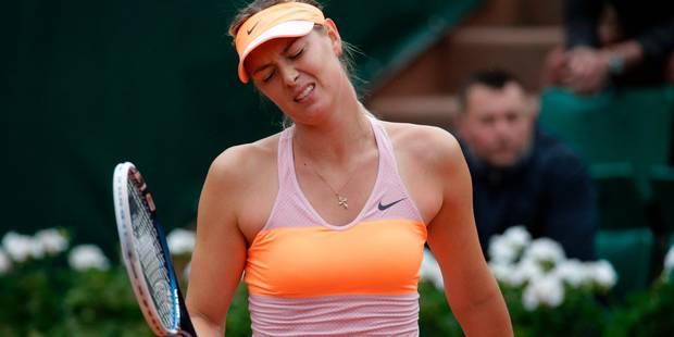 Sharapova absente à Roland-Garros: La WTA montre son désaccord - La DH