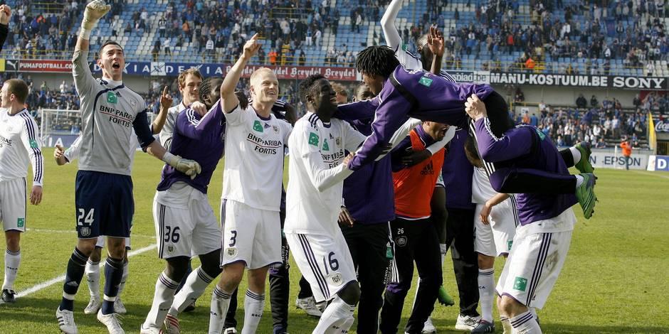 Non, Anderlecht ne peut plus perdre le titre