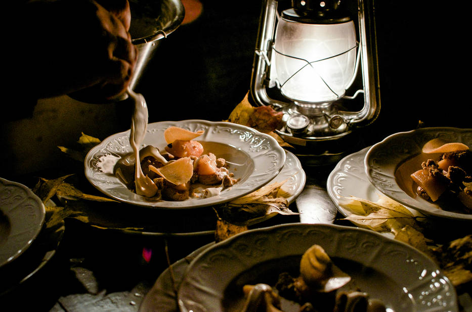 Le festin sylvestre avec Culinaria